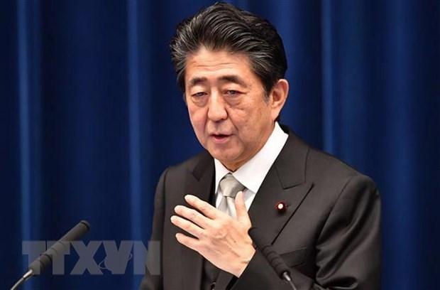 Thu tuong Nhat Ban Shinzo Abe tim cach giam cang thang tai Trung Dong hinh anh 1