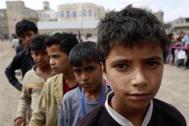 Chien tranh day hang trieu tre em Yemen vao canh khon cung hinh anh 1
