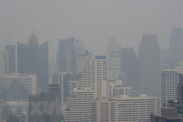 Chi so khong khi o thu do Bangkok tro lai muc do an toan hinh anh 1
