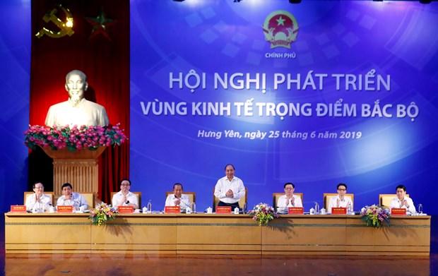 Thu tuong chi thi thuc day tang truong Vung Kinh te trong diem Bac Bo hinh anh 1