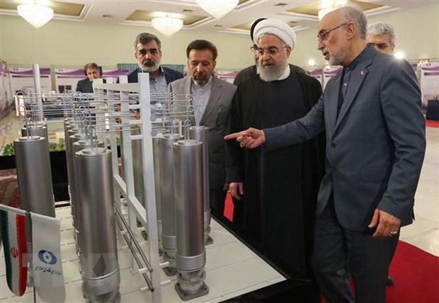 Iran tuyen bo tiep tuc giam cam ket trong thoa thuan hat nhan hinh anh 1