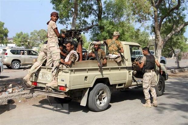 Cac luc luong Saudi Arabia kiem soat thanh pho Aden cua Yemen hinh anh 1