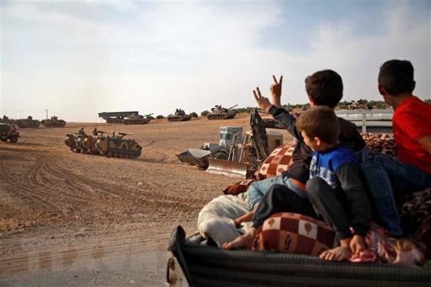 Tho Nhi Ky tan cong nguoi Kurd: Nga muon ho tro cac ben doi thoai hinh anh 1