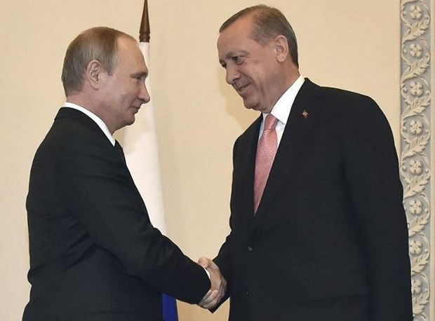 Tong thong Tho Nhi Ky Erdogan se gap Tong thong Nga Putin tai Sochi hinh anh 1