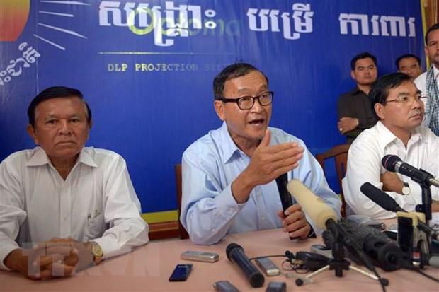 Campuchia: Ong Sam Rainsy tiep tuc linh an 20 thang tu vi toi lang ma hinh anh 1