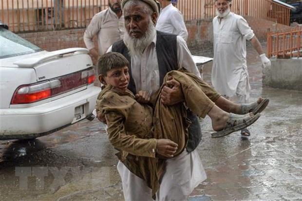 Con so thuong vong trong vu no o Afghanistan len den hon 162 nguoi hinh anh 1