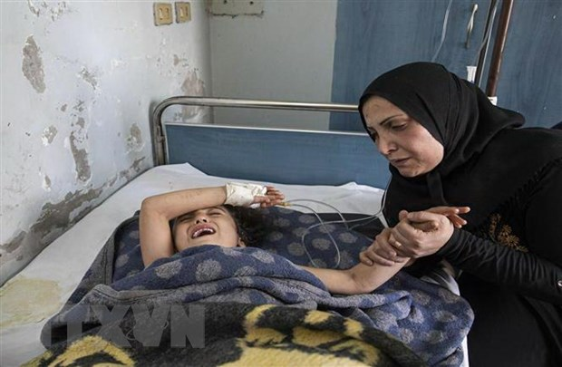 Syria: Luc luong than Tho Nhi Ky bi cao buoc su dung chat doc hoa hoc hinh anh 1