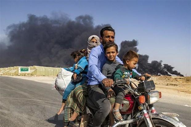 Lien hop quoc: Gan 1.700 nguoi Kurd o Syria tim cach ti nan o Iraq hinh anh 1