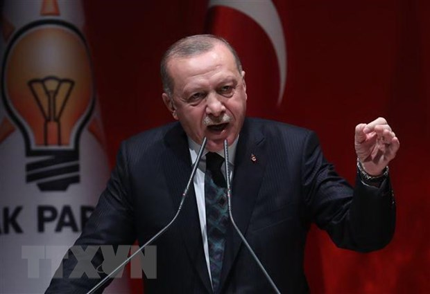 Ong Erdogan phu nhan Tho Nhi Ky vi pham lenh ngung ban o Syria hinh anh 1