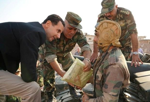 Tong thong Assad: Idlib la mau chot de ket thuc noi chien Syria hinh anh 1