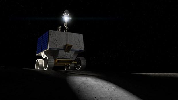 NASA len ke hoach gui robot tim kiem nuoc tren Mat Trang hinh anh 1