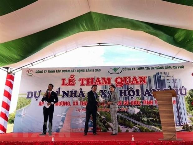 Tay Ninh: Kiem tra, xu ly viec rao ban cac 'du an bat dong san ma' hinh anh 1