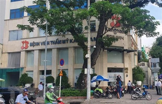 Thanh pho Ho Chi Minh chan chinh hoat dong dich vu tham my hinh anh 1