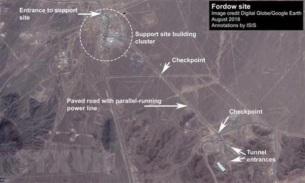 Iran: Nha may Fordow bat dau lam giau urani tu nua dem hinh anh 1