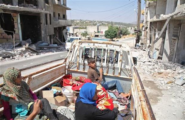 UNHCR: Luc luong Chinh phu Syria tan cong cac co so y te o Idlib hinh anh 1