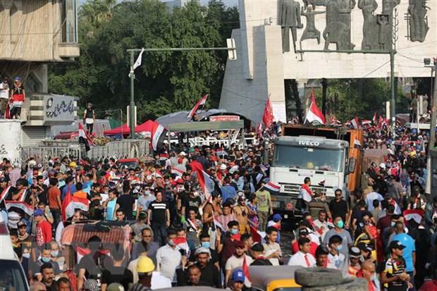 Iraq: Cang thang tai dien, nhieu nguoi thiet mang trong cac vu dung do hinh anh 1