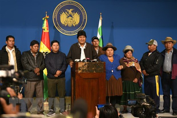 Dien Kremlin: Cuu Tong thong Bolivia khong yeu cau ti nan tai Nga hinh anh 1