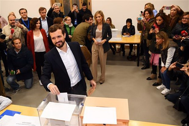 Bau cu Tay Ban Nha: PSOE bac kha nang thanh lap dai lien minh voi PP hinh anh 1