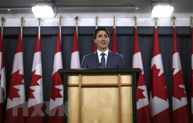 Thu tuong Canada Justin Trudeau trieu tap Quoc hoi vao ngay 5/12 hinh anh 1