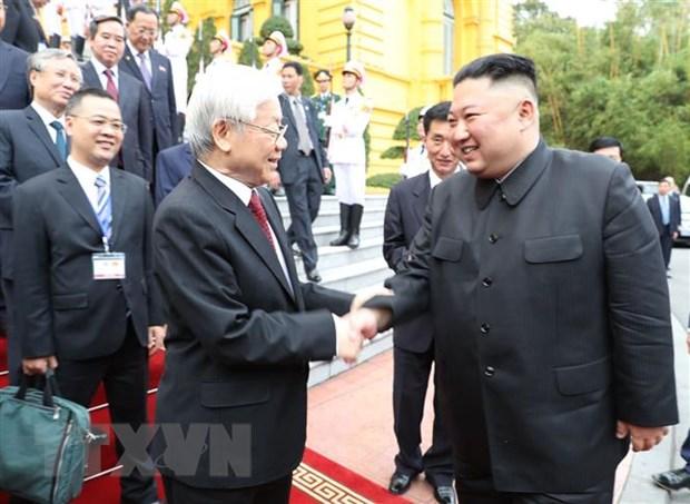 Bao Rodong Sinmun cua Trieu Tien ca ngoi moi quan he voi Viet Nam hinh anh 1