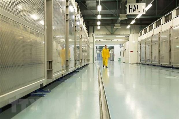 Bên trong cơ sở làm giàu urani Fordow ở Qom, miền Bắc Iran ngà