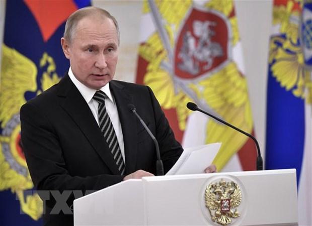 Tong thong Putin keu goi tang cuong suc manh quan su cua Nga hinh anh 1