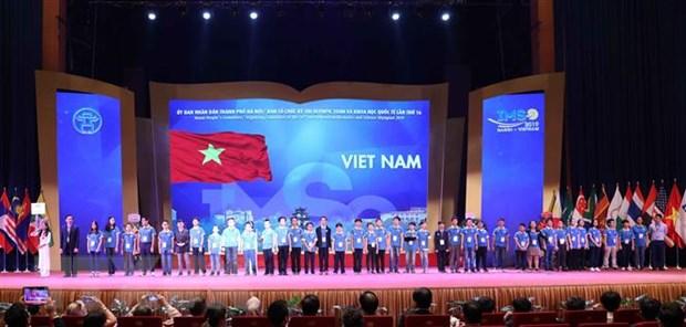 Khai mac Ky thi Olympic Toan va Khoa hoc quoc te nam 2019 hinh anh 1