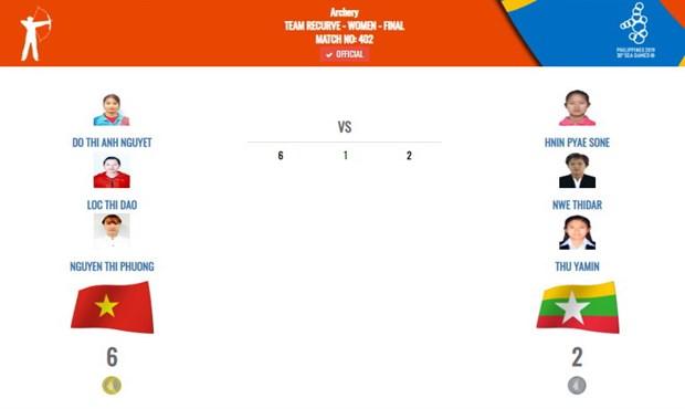 SEA Games 30: Ban cung Viet Nam gianh huy chuong Vang dau tien hinh anh 1