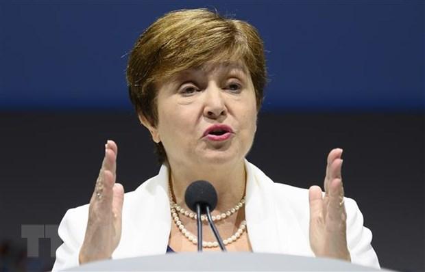 IMF va Ukraine dat duoc nhat tri ve thoa thuan vien tro hinh anh 1
