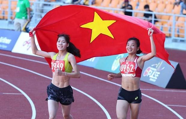Van dong vien Nguyen Thi Oanh 'mo hang' huy chuong Vang ngay 10/12 hinh anh 1