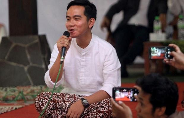 Con trai Tong thong Indonesia chinh thuc ra tranh cu thi truong hinh anh 1
