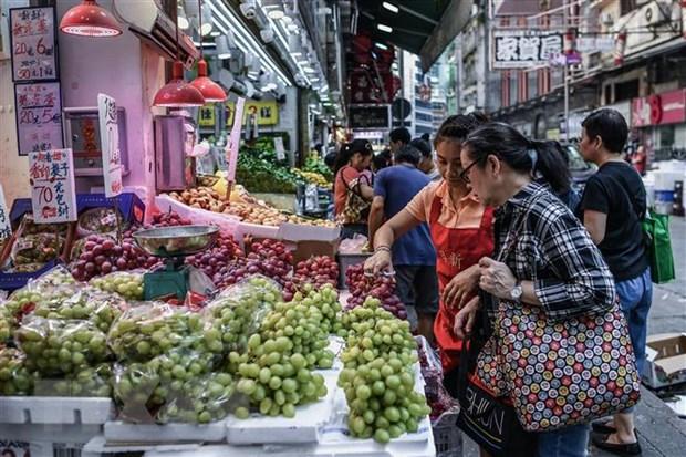 Chinh quyen Hong Kong lo ngai bat on day nen kinh te di xuong hinh anh 1
