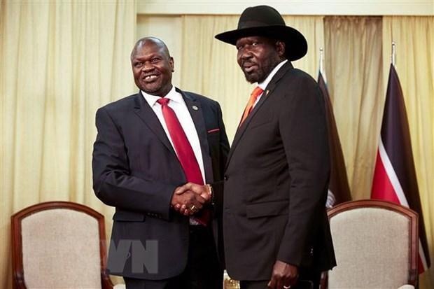Nam Sudan: Tong thong va phe doi lap thanh lap chinh phu doan ket hinh anh 1