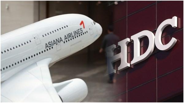 Cong ty xay dung HDC Hyndai thau tom hang hang khong Asiana Airlines hinh anh 1