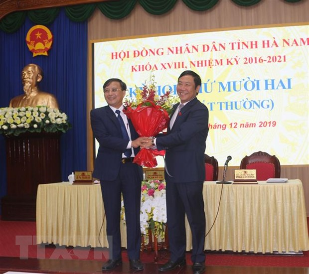 Ong Nguyen Duc Vuong duoc bau lam Pho Chu tich UBND tinh Ha Nam hinh anh 1