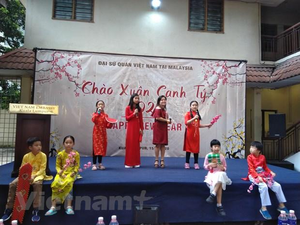 Cong dong nguoi Viet tai Malaysia mung Xuan Canh Ty 2020 hinh anh 2