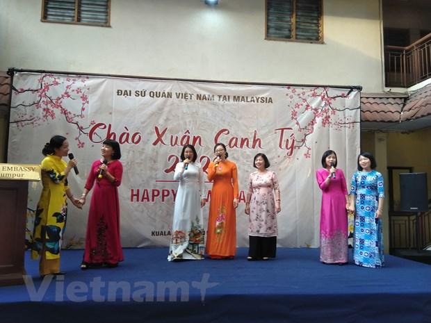 Cong dong nguoi Viet tai Malaysia mung Xuan Canh Ty 2020 hinh anh 3