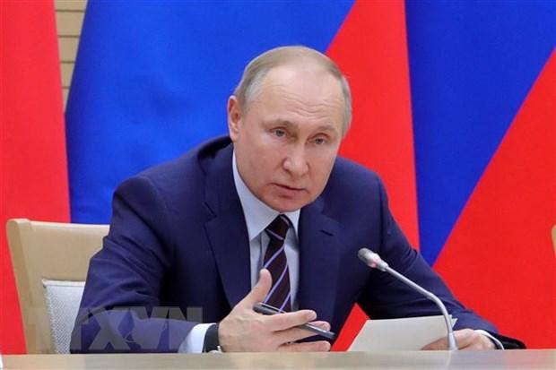 Tong thong Putin thao luan voi Hoi dong chau Au ve cac van de nong hinh anh 1
