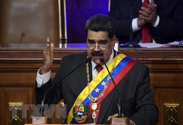 Venezuela moi Lien hop quoc va EU tham gia doi thoai hoa giai hinh anh 1