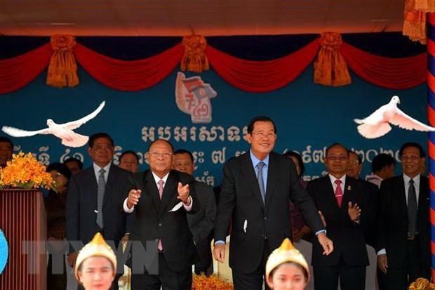 Campuchia: Khai mac Hoi nghi mo rong lan thu 42 Trung uong Dang CPP hinh anh 1