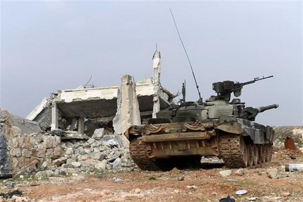 Syria: Quan noi day tan cong vi tri do chinh phu kiem soat o Aleppo hinh anh 1