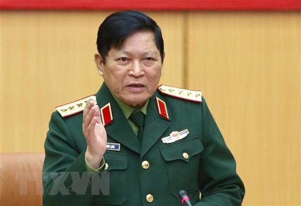 Doan dai bieu quan su cap cao Viet Nam tham Lien bang Nga hinh anh 1