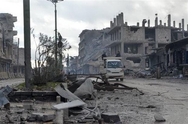 Chinh quyen Syria tang cuong tan cong bat chap canh bao cua Tho Nhi Ky hinh anh 1
