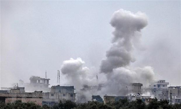 Phien quan Syria ban ha may bay truc thang cua chinh quyen hinh anh 1