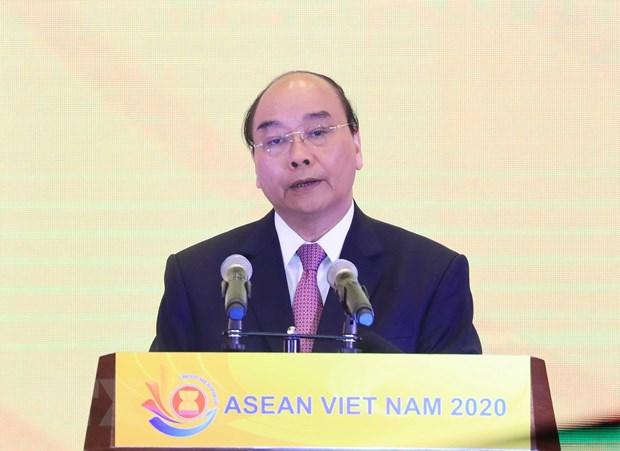 Thu tuong ra tuyen bo cua Chu tich ASEAN ve ung pho COVID-19 hinh anh 1