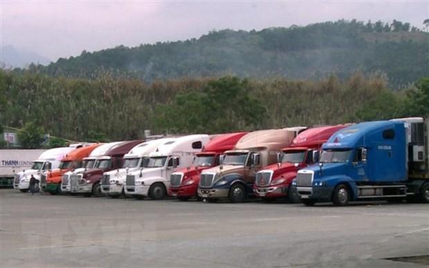 Hon 2.000 xe nong san cua Viet Nam duoc xuat khau qua cua khau Lao Cai hinh anh 1