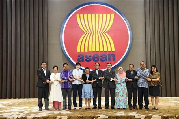 Cuoc hop lan thu 60 Nhom Dac trach Sang kien Lien ket ASEAN hinh anh 1