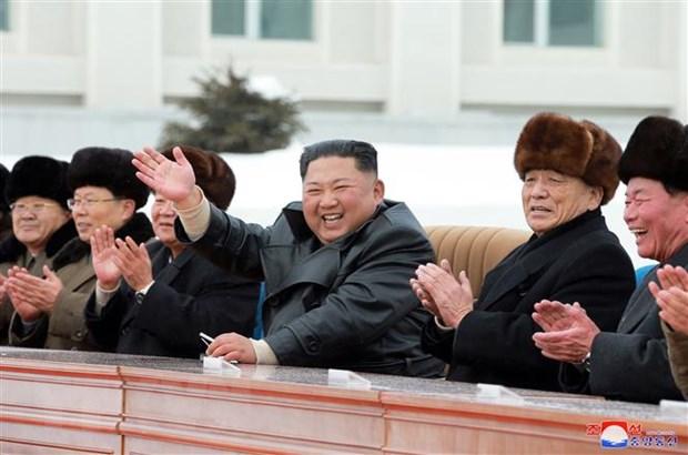 Nha lanh dao Trieu Tien Kim Jong-un giam sat hoat dong tap tran hinh anh 1