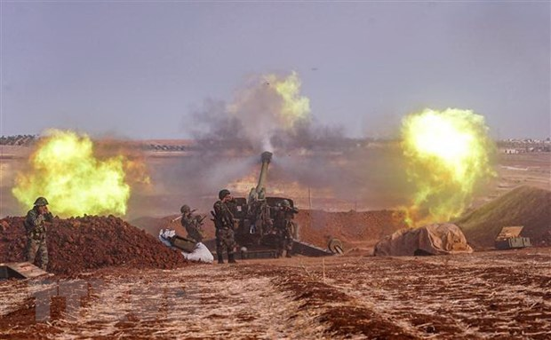 Tho Nhi Ky, Syria tuyen bo ban ha may bay cua nhau o tinh Idlib hinh anh 1