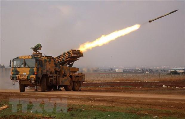 Tho Nhi Ky ban roi hai may bay cua Syria tai tinh Idlib hinh anh 1